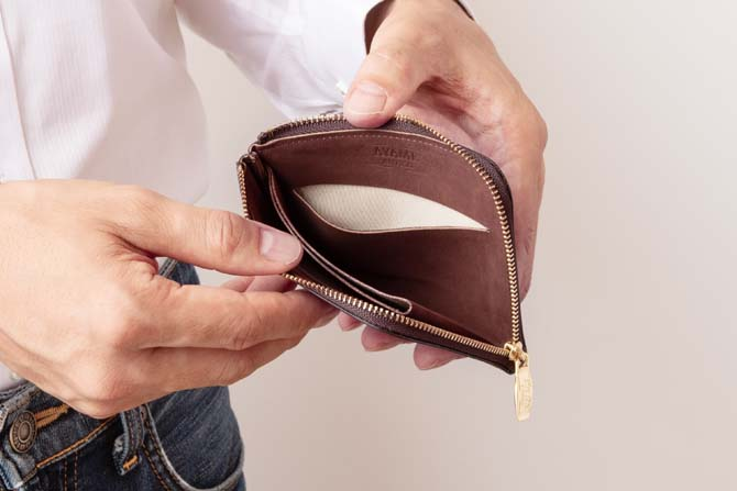 エッレ・コルトのカードポケット