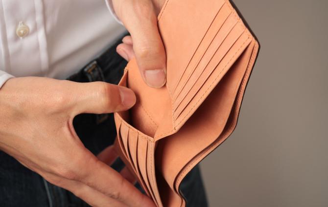 ポルタフォーリオ ピエゲーヴォレの隠しポケット